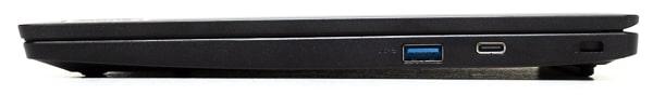 IdeaPad Slim 350i Chromebook 右側面