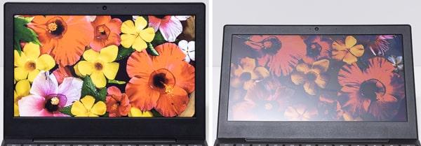 IdeaPad Slim 350i Chromebook 視野角