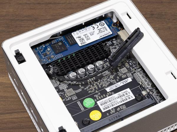 MINISFORUM DeskMini UM300 ケーブル