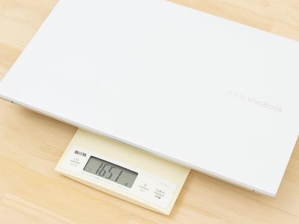 VivoBook S15 M533I 重さ