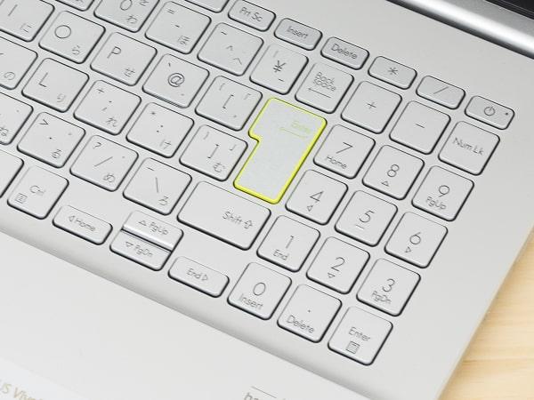 VivoBook S15 M533I テンキー