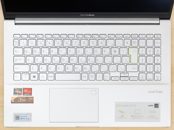 VivoBook S15 M533I キーボード