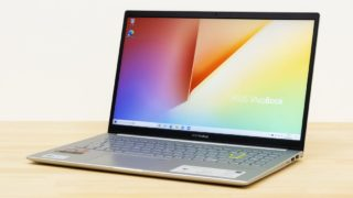 ASUS VivoBook S15 M533IA レビュー:Ryzen 7 4700U搭載の高品質15.6インチスタンダードノートPC