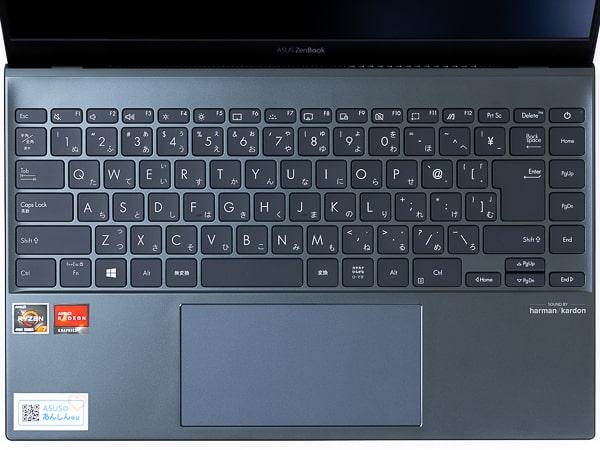 ASUS ZenBook 14 UM425IA キーボード