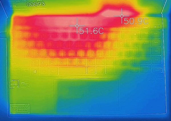 ASUS ZenBook 14 UM425IA 熱