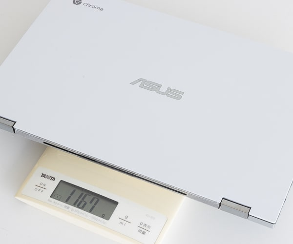 ASUS Chromebook Flip C436FA 重さ