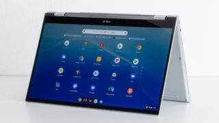 ASUS Chromebook Flip C436FA レビュー:第10世代Core iプロセッサー搭載で10万円超のハイエンド14インチChromebook