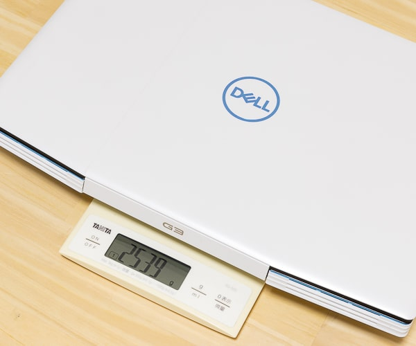 Dell G3 15 (3500) 重さ