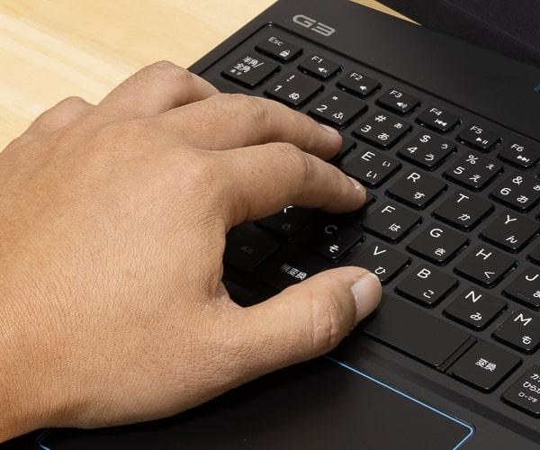 Dell G3 15 (3500) タイプ感