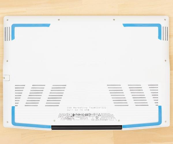 Dell G3 15 (3500) 底面