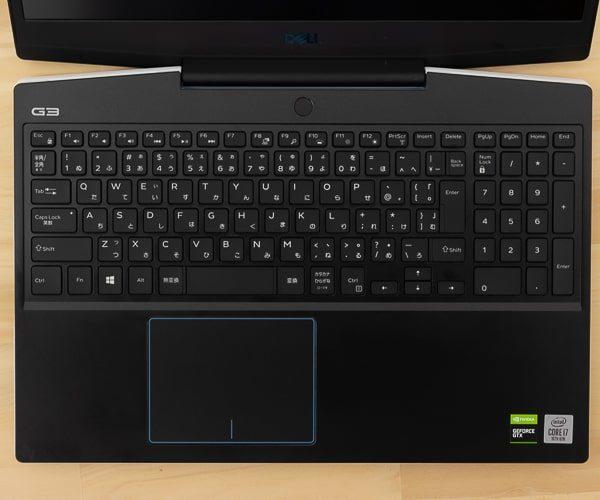 Dell G3 15 (3500) キーボード