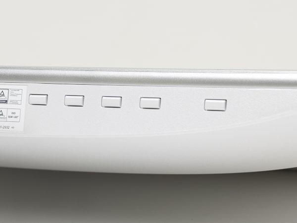 HP22f/HP22fw OSDボタン