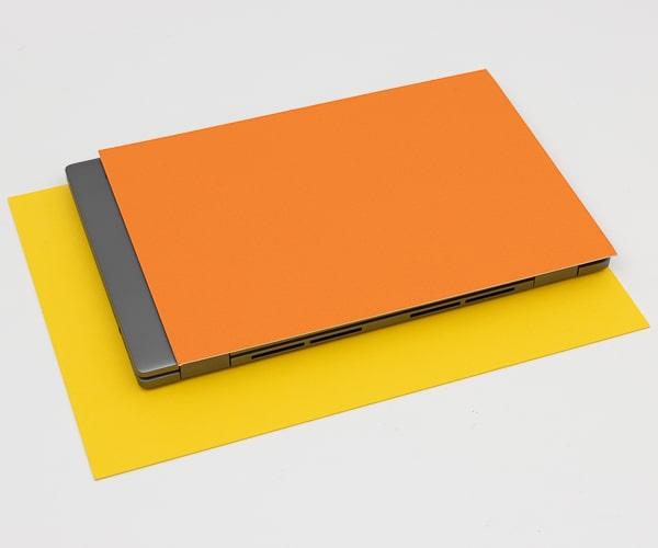 HP Chromebook x360 14c サイズ比較