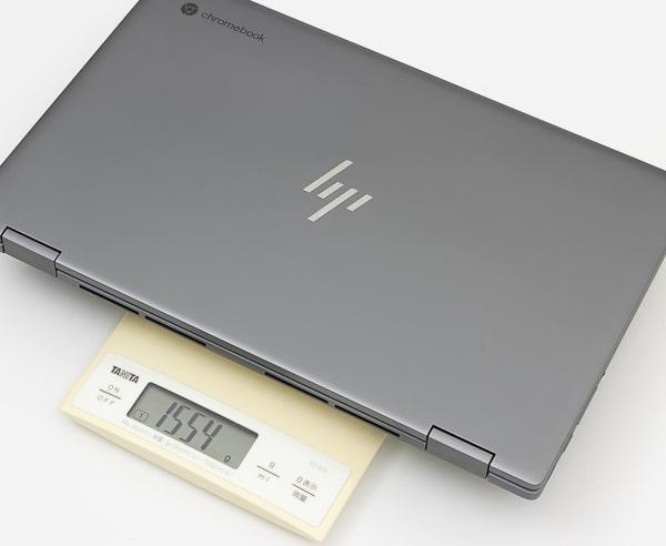 HP Chromebook x360 14c 重さ
