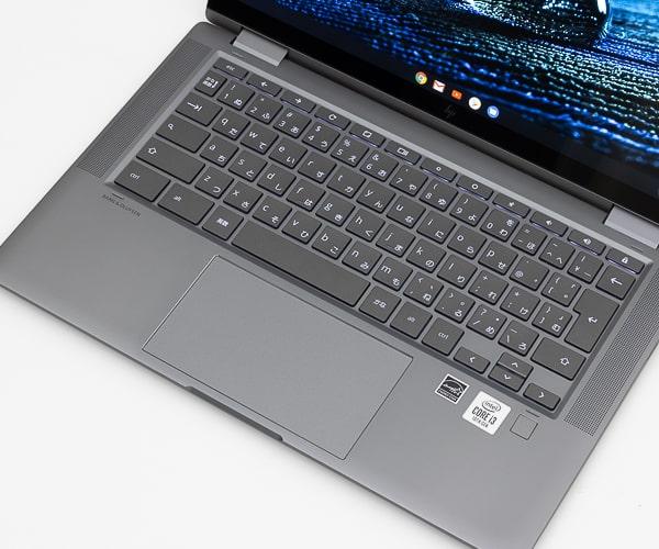 HP Chromebook x360 14c パームレスト