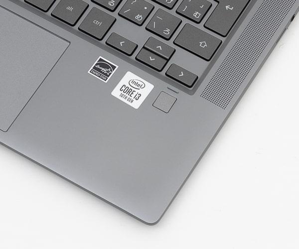 HP Chromebook x360 14c 指紋センサー
