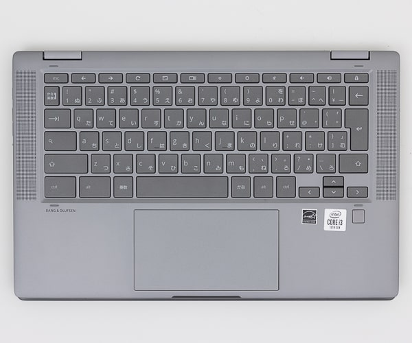 HP Chromebook x360 14c キーボード