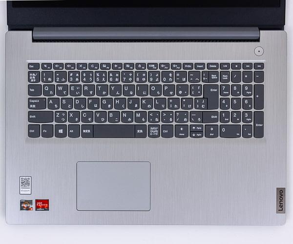 IdeaPad Slim 350 17 キーボード