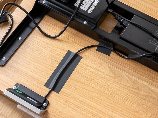 FLEXISPOT 電動式スタンディングデスク E7 ケーブル