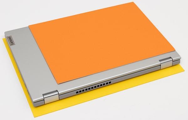 IdeaPad Flex 550i(15)大きさ