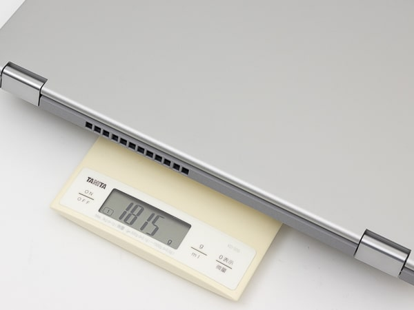 IdeaPad Flex 550i(15)重さ