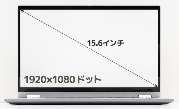 IdeaPad Flex 550i(15)画面サイズ