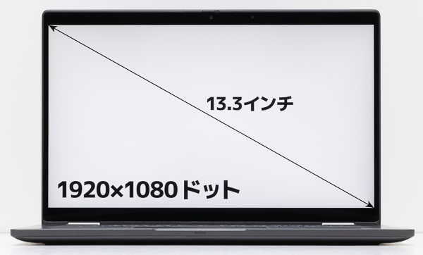 Latitude 7310 画面サイズ