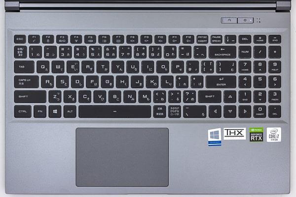 raytrek R5 キーボード