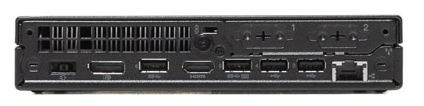 ThinkCentre M75q-2 Tiny 背面