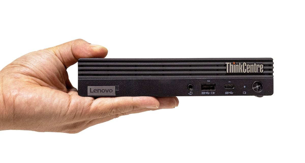 ThinkCentre M75q-2 Tiny サイズ