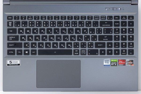 GALLERIA GR2060RGF-T キーボード
