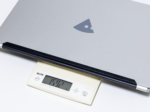 mouse B5-i7 重さ
