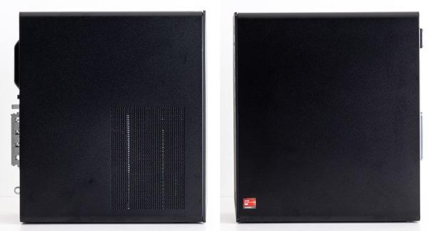 HP Pavilion Gaming Desktop TG01(AMD)側面