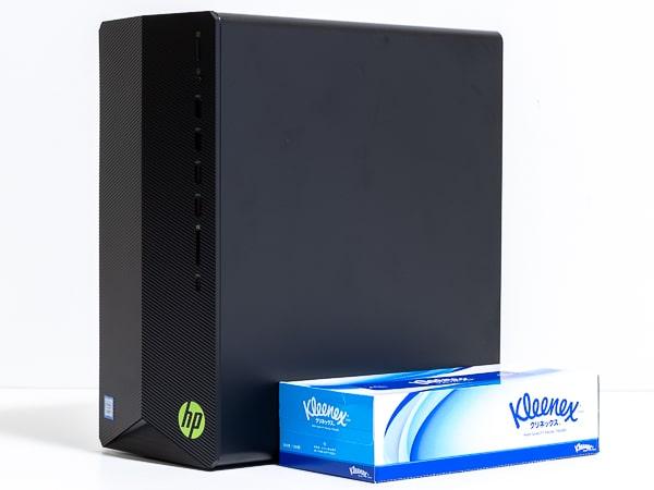 HP Pavilion Gaming Desktop TG01(インテル)大きさ
