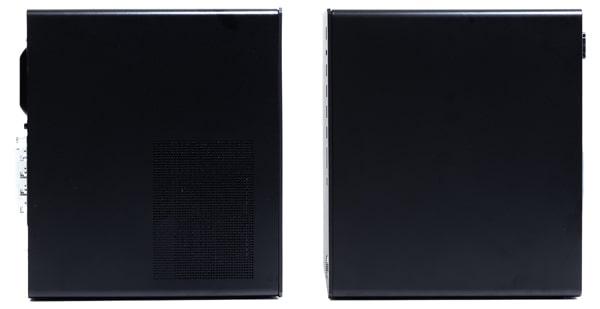HP Pavilion Gaming Desktop TG01(インテル)側面