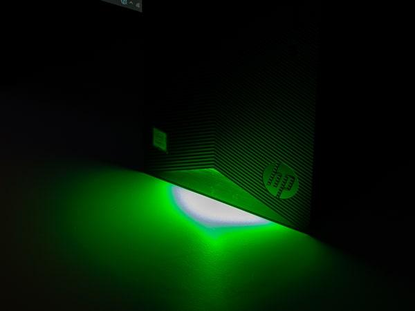 HP Pavilion Gaming Desktop TG01(インテル)LED