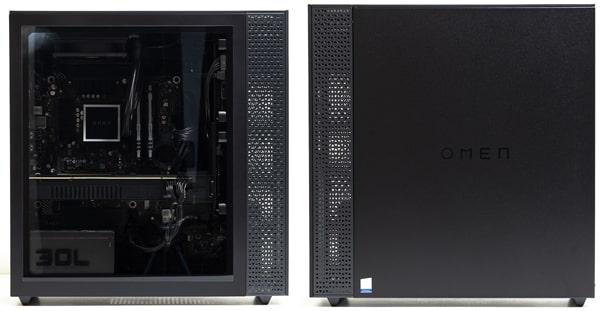 OMEN by HP 30L Desktop 側面