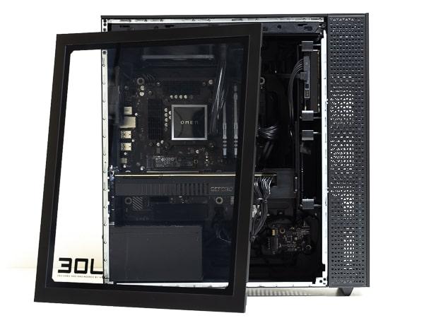 OMEN by HP 30L Desktop サイドパネル