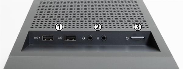 OMEN by HP 30L Desktop 天面