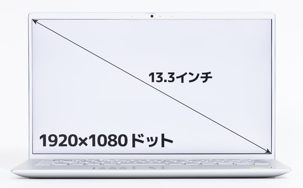 Inspiron 13 7300 画面サイズ
