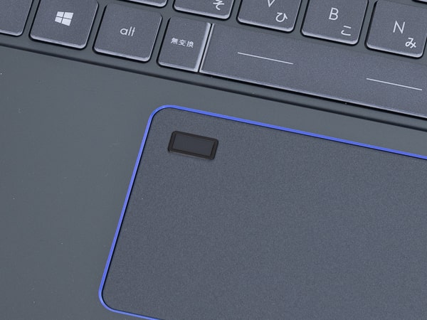 Prestige 15 指紋センサー