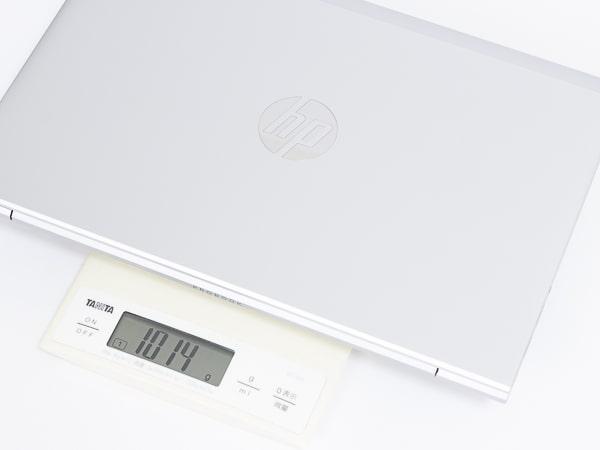 HP ProBook 635 Aero G7 重さ