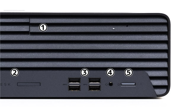HP ProDesk 405 G6 SFF 前面