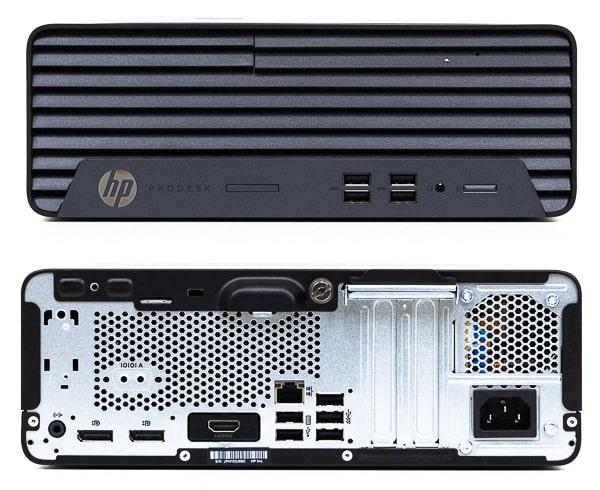 HP ProDesk 405 G6 SFF 前面と背面