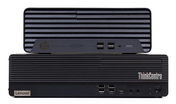 HP ProDesk 405 G6 SFF サイズ比較