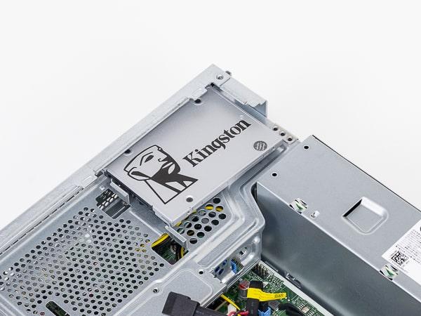 HP ProDesk 405 G6 SFF ドライブベイ