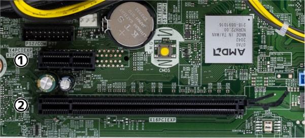 HP ProDesk 405 G6 SFF スロット