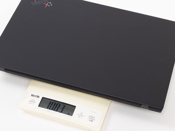 ThinkPad X1 Carbon Gen8 重さ