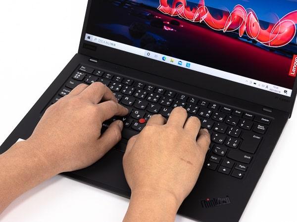 ThinkPad X1 Carbon Gen8 タイプ音