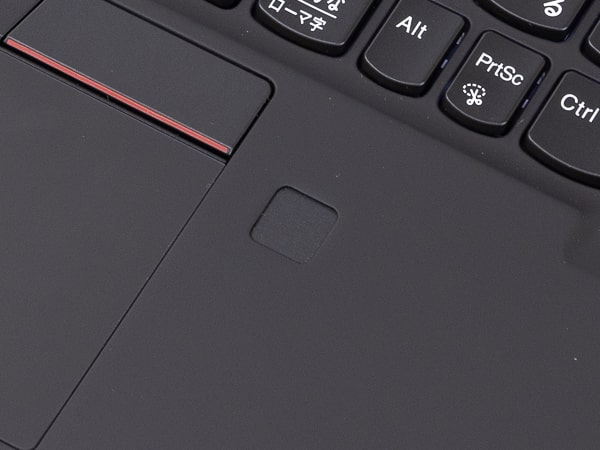 ThinkPad X1 Carbon Gen8 指紋センサー